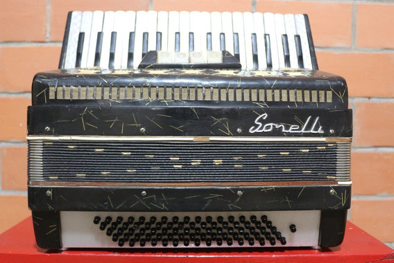Acordeon Sonelli 80 Baixos - Afinada / Revisada