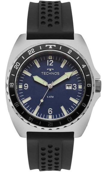 Technos Race 2115moc/1a - Aço - Relógio