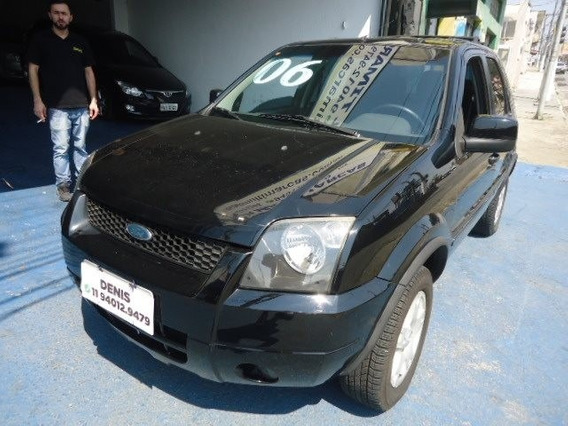 Ford Ecosport 2006 2.0 Gasolina Xlt Preta