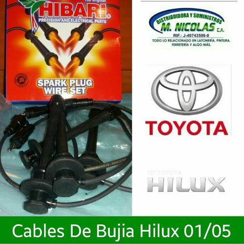Cables De Bujía Hilux 00/05 Japonesess