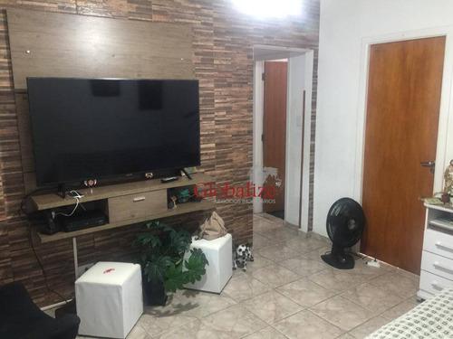 Apartamento À Venda, 85 M² Por R$ 400.000,00 - Macuco - Santos/sp - Ap0866