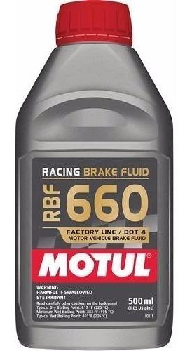Fluído De Freio Motul Rbf 660 500ml - Racing Brake Fluid