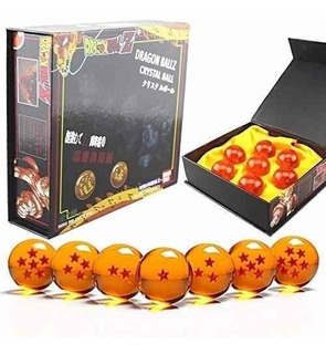 Dragon Ball Z 7 Esferas Del Dragon + Estuche 4.5cm