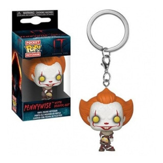 Funko Pop Pennywise With Beaver Hat It Llavero Keychain