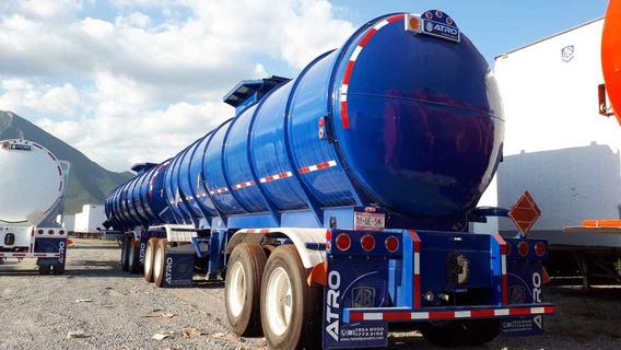 Remolque Tanque Acero Al Carbon Gasolina Y Diesel Atro