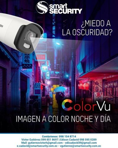 Camara Tubo Serie Colorvu | Imagen A Color 24 Horas | 1080p