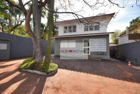 Casa Comercial Para Locação, Jardim América, São Paulo. - Ca0101