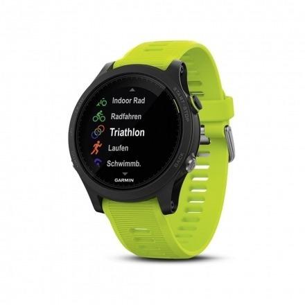 Smartwatch Garmin Forerunner 935 Tri-bundle Preto Verde