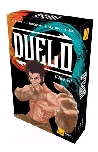 Duelo Kung-fu Cards Game Jogo De Tabuleiro Board Party Grok