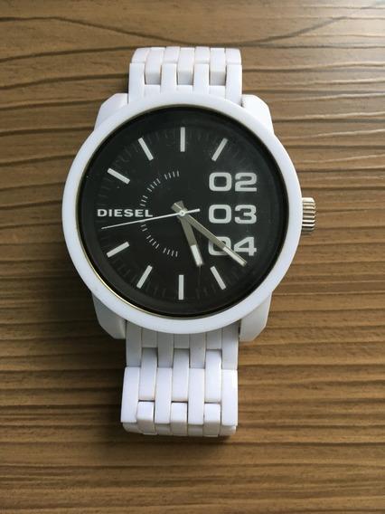 Relógio Diesel Branco Dz 1518