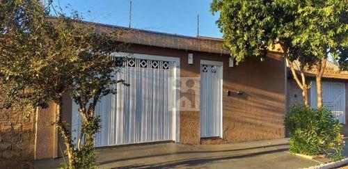 Casa Com 3 Dormitórios À Venda, 231 M² Por R$ 430.000 - Parque Residencial Cândido Portinari - Ribeirão Preto/sp - Ca0935