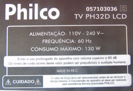 Base Suporte Tv Philco Ph32d Lcd