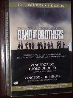 Dvd Box Band Of Brothers Série Completa 10 Ep. 6 Discos Novo