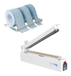 Seladora Papel Grau E Plástico Agir Digital Plus Kit 35-cm