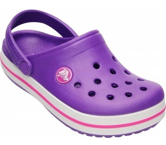 Crocs Crocband Kids Gomon Suecos Niños Unisex - Originales