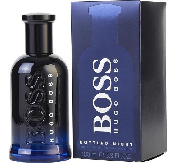 Perfume Hugo Boss Bottled Night Edt 100ml Original