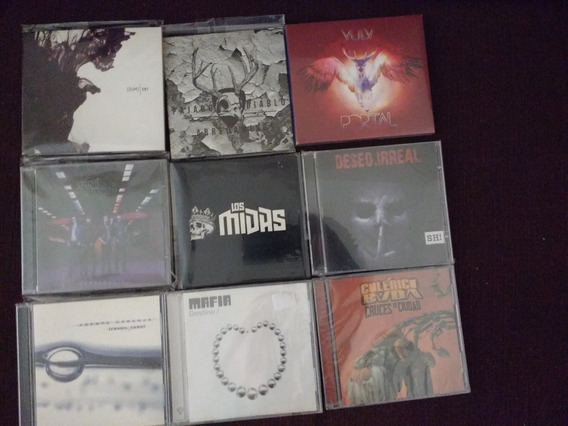 Hard Rock Nacional Lote 9 Cds - Kotin