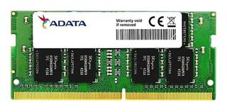 Memoria RAM 4GB 1x4GB Adata AD4S2400J4G17-S