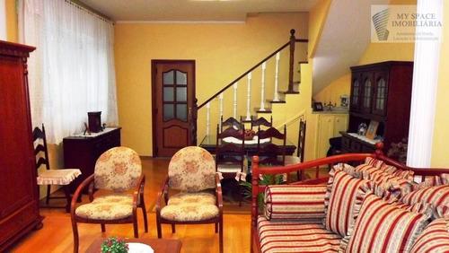 Sobrado  Residencial À Venda, Belenzinho, São Paulo. - So0107