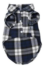 Roupa - Camisa Xadrez Para Cachorro - Festa Junina