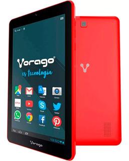 Tablet Vorago Pad-7 Android4.4 Quadcore 8gb Dualcam Rojo /vc
