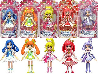 Bandai Glitter Force Precure Doki Doki Precure Pretty Cure 5