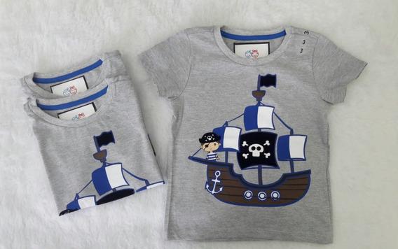 Camisetas Infantil Meninos - Kit 02 Unidades