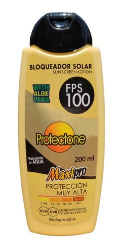 Imagen 1 de 4 de Bloqueador Solar - Fps 100 Maxipro De 200 Ml