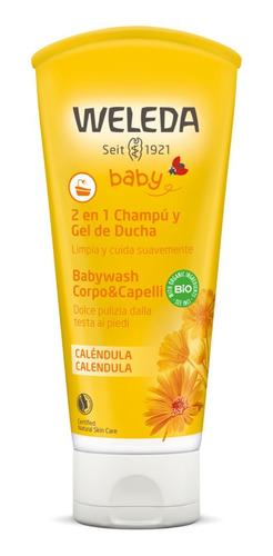 Shampoo Y Gel De Ducha De Caléndula Weleda.