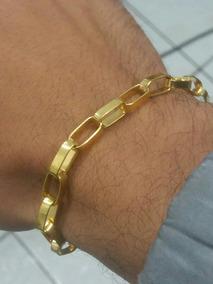 Pulseiras De Prata Com Banho De Ouro 24k