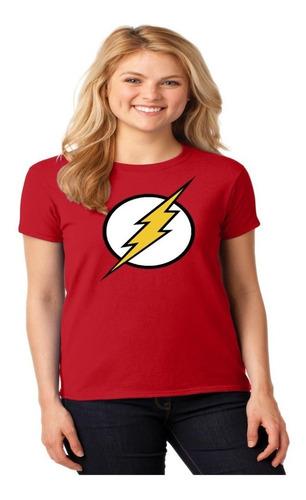 Franela Camisa Flash ( Mujer ) - Alta Calidad