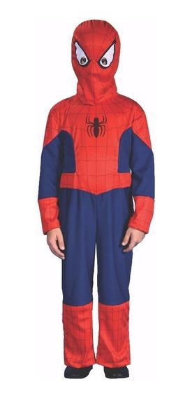 Disfraz De Spiderman Con Luz Con Licencia Original New Toys
