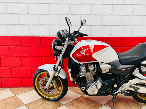 Honda Cb 1300 F - 2007 - Branca - Km 89.000