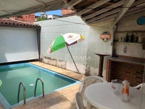 Imagem 1 de 16 de Casa Com 3 Dormitórios À Venda, 310 M² Por R$ 700.000,00 - Piratininga - Niterói/rj - Ca0292
