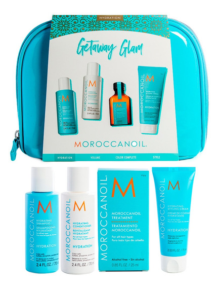 Moroccanoil Kit Travel Hidratante Para Cabello Anti Frizz