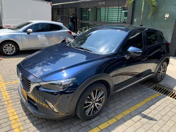 Mazda Cx3 Modelo 2017 Azul Metalico En Medellin
