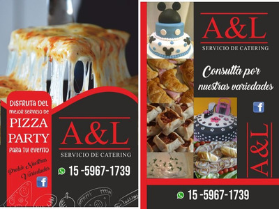 Pizza Party, Prepizzas, Servicio De Lunch.