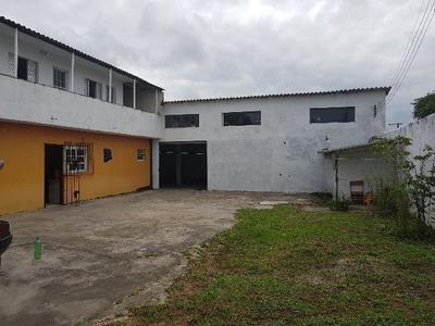 Salão Comercial Com Moradia, Chácaras Glória, Em Itanhaém