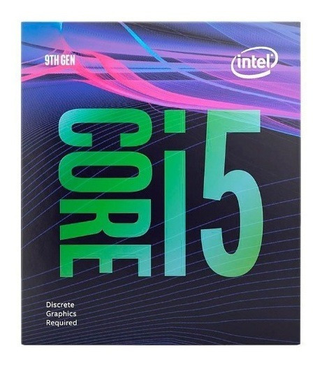 Processador Intel Core I5-9600kf Coffee Lake Refresh Lga1151