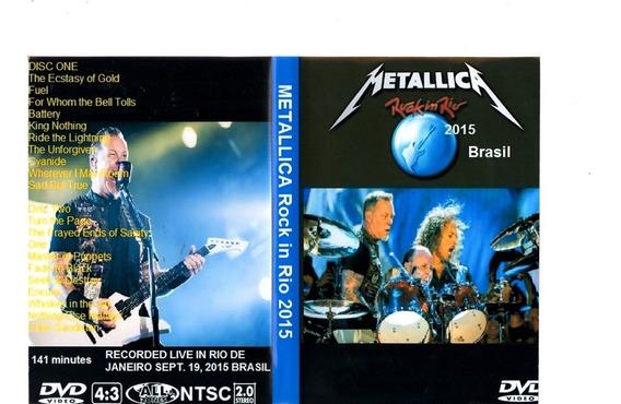 Dvd Metallica Combo Com 12 Dvds