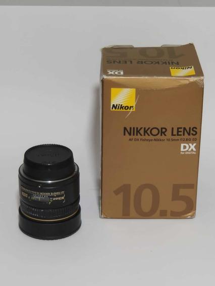Lente Nikon Af 10,5mm Dx Fisheye