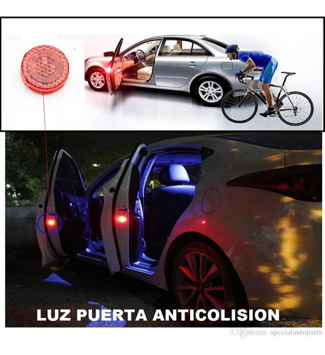 Luz Led Puerta De Carro Anticolision 02 Pz Entrega Inmediata