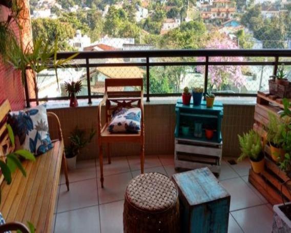 Apartamento Em São Francisco, Niterói/rj De 110m² 3 Quartos À Venda Por R$ 550.000,00 - Ap251771