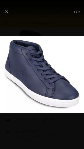 Zapatillas Lacoste Straightset Chukka 316 - Azul-marino
