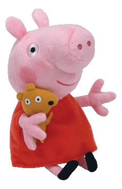 Pelúcia Peppa Pig 25cm