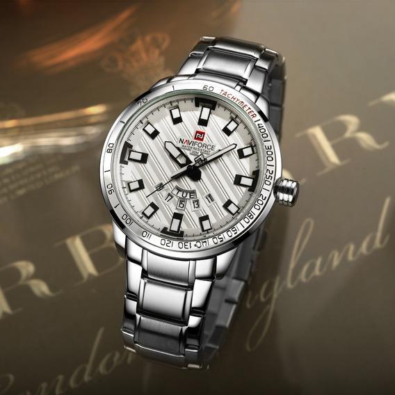 Relógio Masculino Naviforce Luxo Original Top