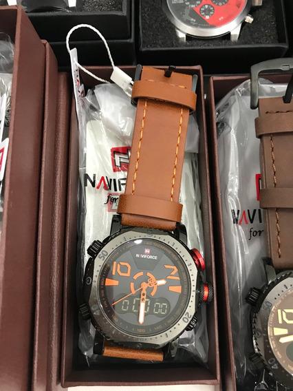 Relógio Sport Fino Masculino Original Preto
