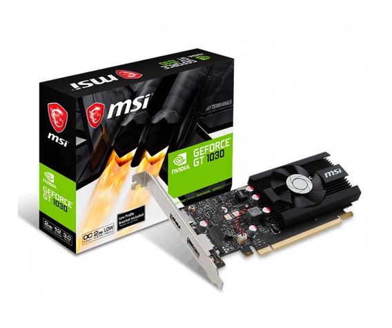 Placa Video Msi Low Profile Geforce Gt 1030 Oc 2gb Ddr5 Hdmi