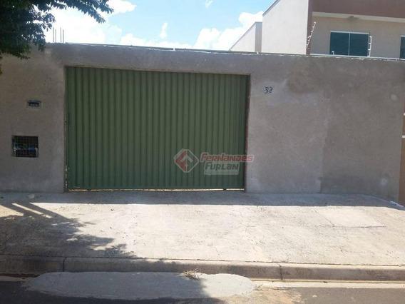 Imovel Em Piracicaba - Casa Com 2 Dormitórios À Venda, 70 M² Por R$ 135.000 - Monte Feliz - Piracicaba/sp - Ca0513