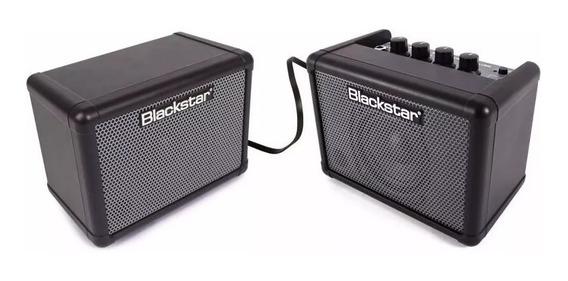 Kit Amplificador Blackstar Fly Bass 3w Combo + Caixa!